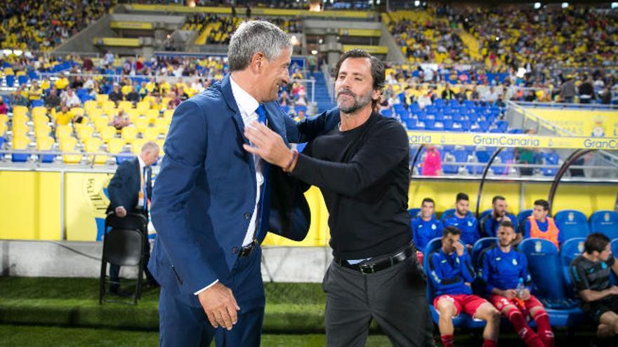 """Quique Setién: """"No hemos tenido el premio del gol"""""""