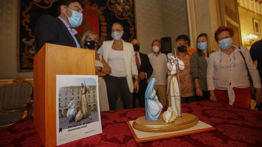 El proyecto del artista foguerer José Manuel García gana el concurso del belén gigante