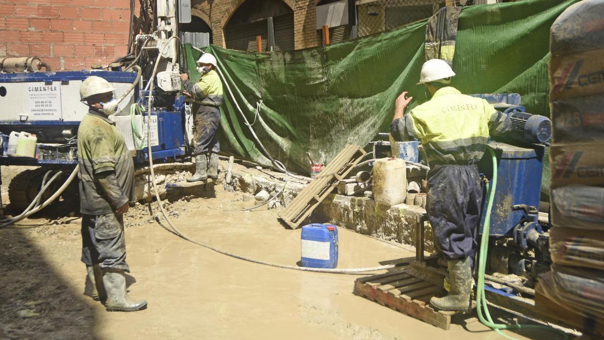 Unos 20.000 trabajadores murcianos de la construcción siguen en su casa