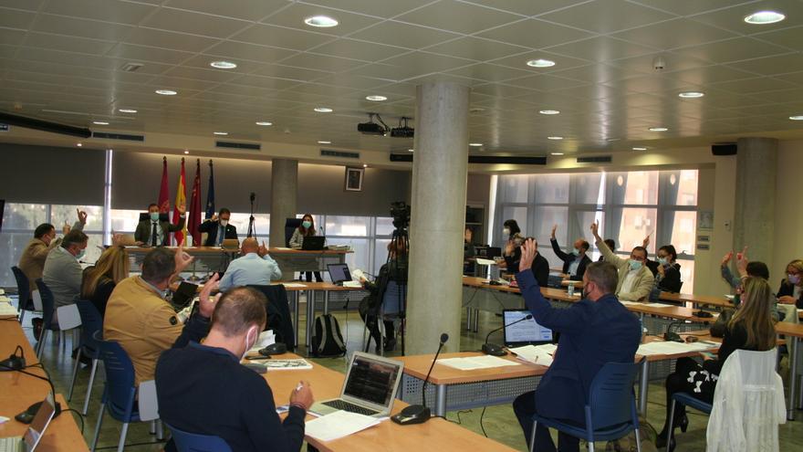 La moción-denuncia de IU del río Turrilla de Lorca se desinfla