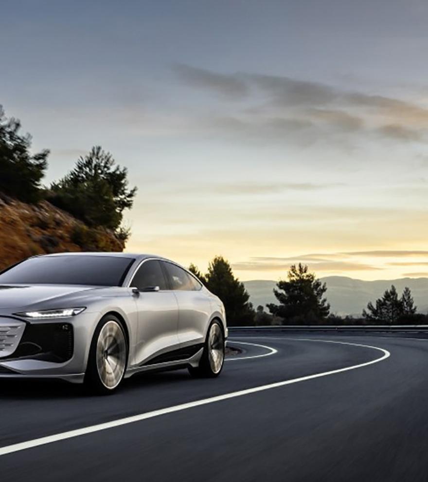 Audi presenta el A6 e-tron Concept, un prototipo para mostrar su nueva plataforma eléctrica