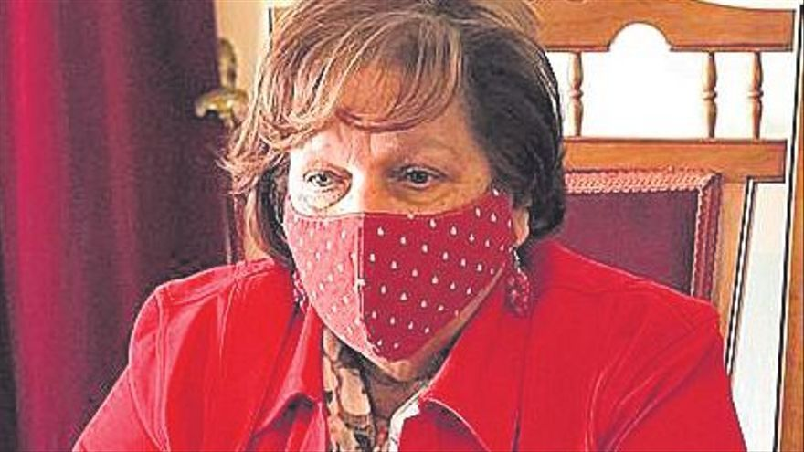 La alcaldesa Fidela Velázquez  se despide este miércoles de la política