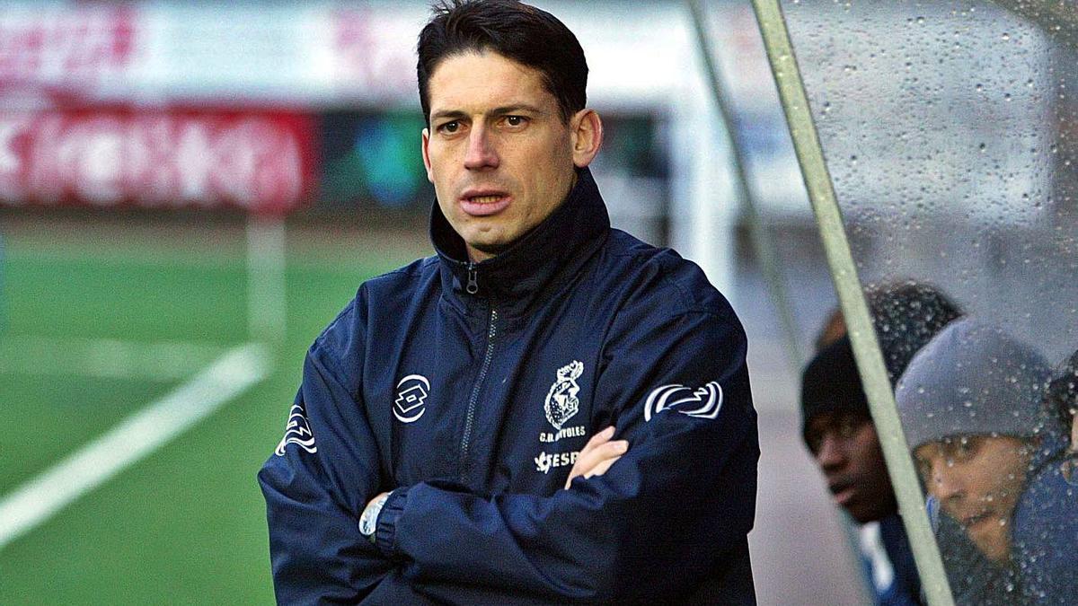 Peri Ventura en la seva etapa com a entrenador del Banyoles (2005/06)