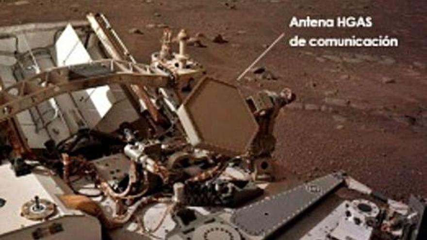 La antena española del 'Perseverance' funciona