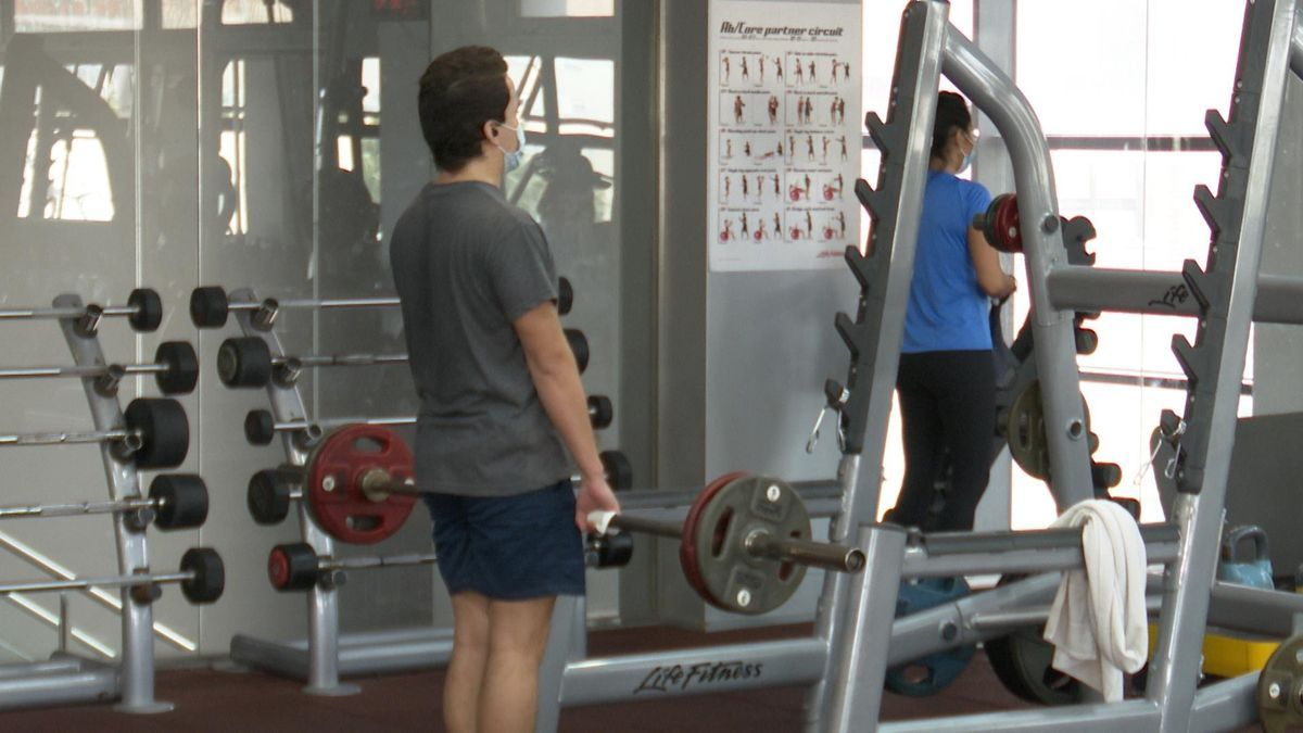 The Valencian Community is considering the reopening of the gyms starting next Monday.