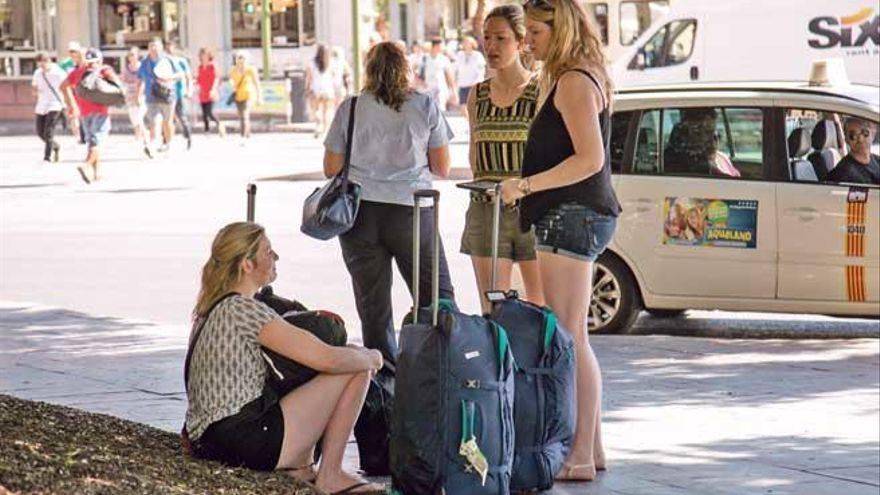 El TSJB anula la prohibición del alquiler turístico de pisos en Palma