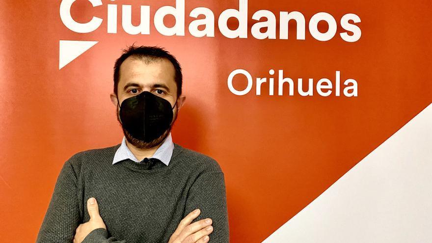 Raúl Pardines, nuevo coordinador de Ciudadanos en Orihuela