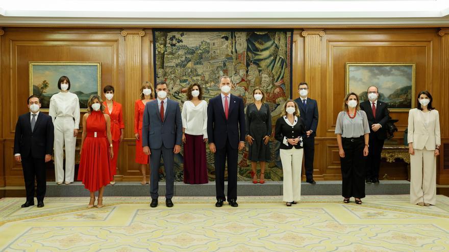 Los nuevos ministros de Sánchez prometen su cargo ante el rey Felipe VI