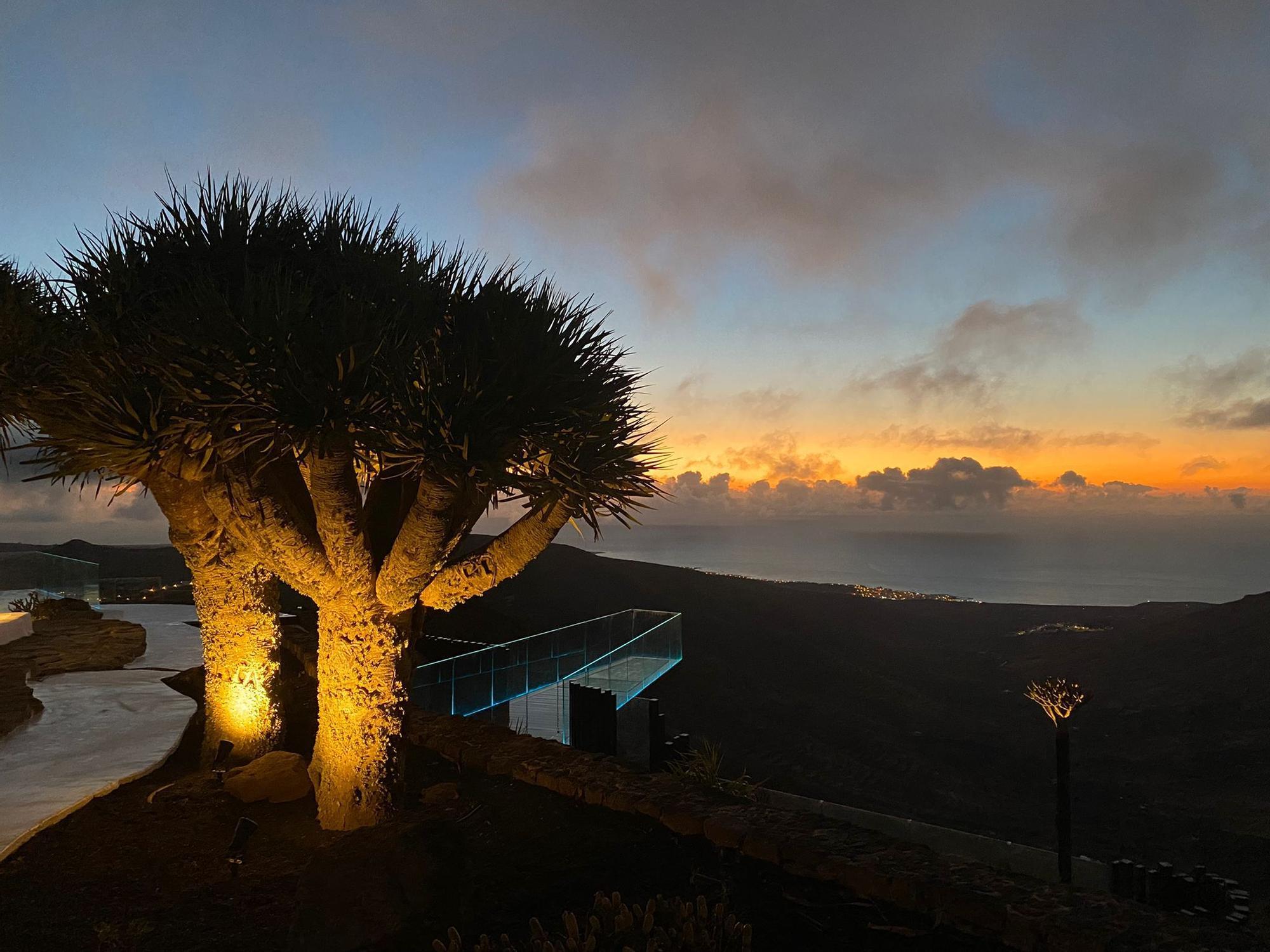 Mirador de Haría, en Lanzarote (07/09/2021)