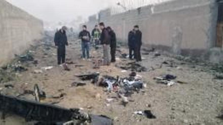 EEUU creu que l'Iran va enderrocar amb míssils l'avió ucraïnès