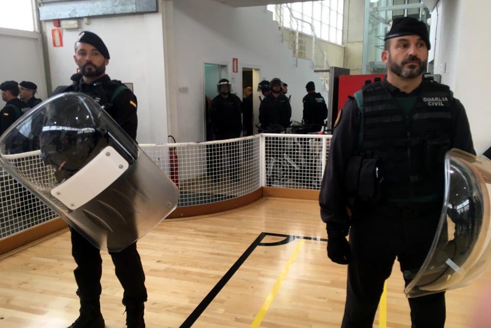 Actuació policial a Sant Julià de Ramis