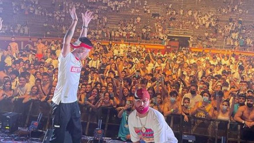 El concierto de reggaeton en la plaza de Toros y las fiestas en barcos y hoteles, focos del contagio de estudiantes