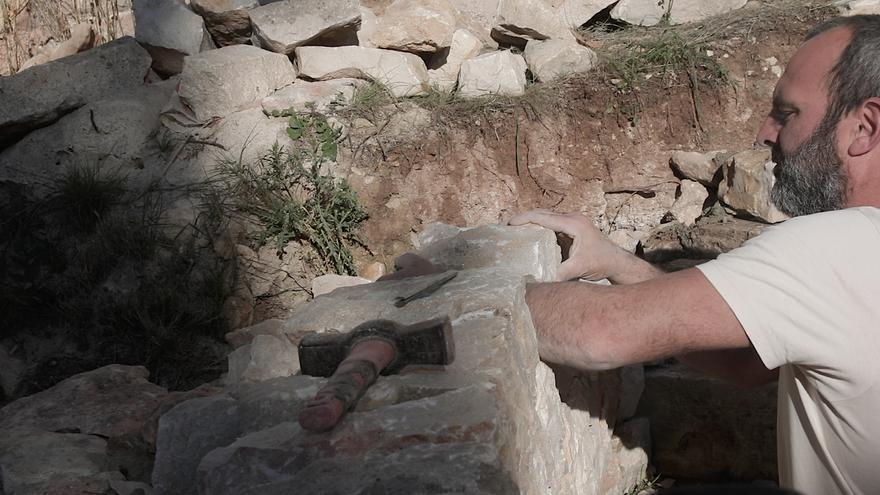 """Lluc Mir, presidente del Gremio de Margers: """"No somos talibanes de la 'pedra en sec'"""""""