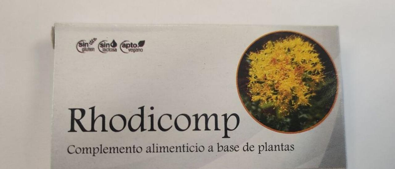 """Sanidad prohíbe y retira la """"viagra de herbolario"""" Rhodicomp"""