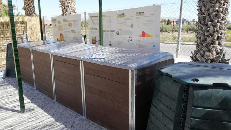 La Diputación construye centros de compostaje en 20 municipios para impulsar la recogida selectiva de residuos