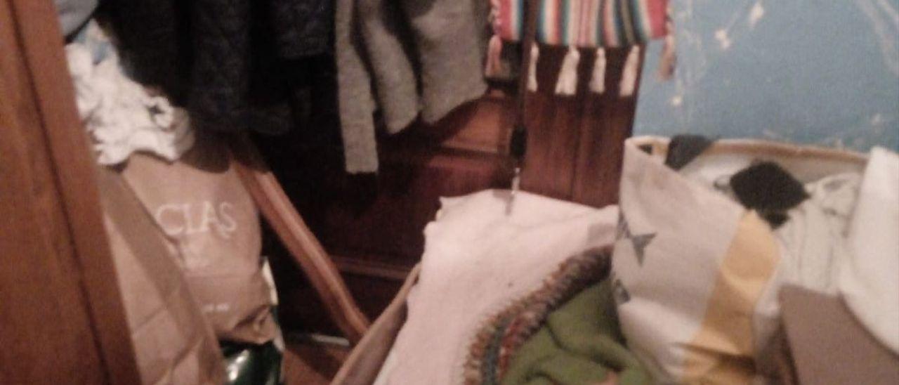 """La habitación donde presuntamente estuvo """"retenida"""" Beatriz M."""