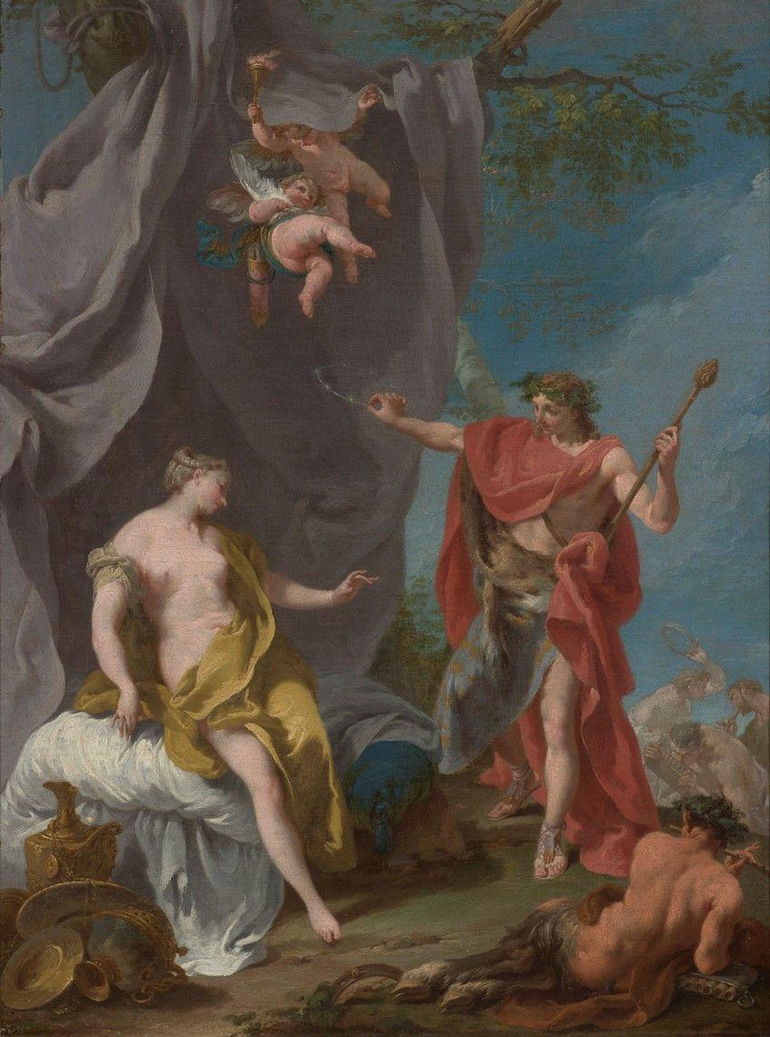Giovanni Battista Pittoni, Baco y Ariadna.jpg