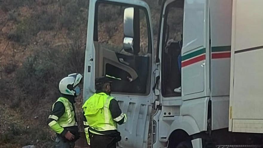 Investigan al conductor de un camión que sextuplicaba la tasa de alcohol en la A-7