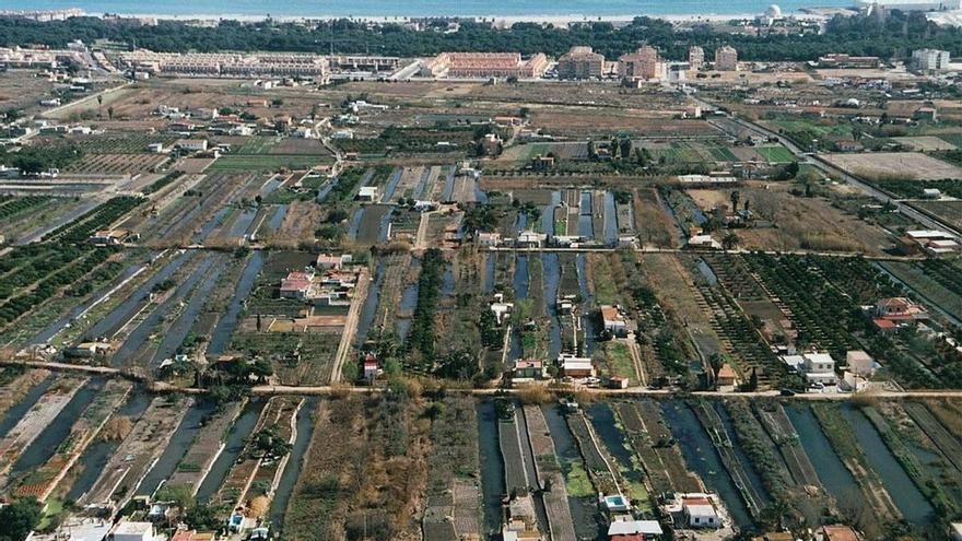 Conselleria bloquea la nueva tubería  para desecar la zona de la Marjaleria de Castelló