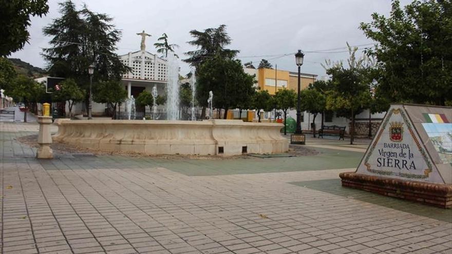 Herida una mujer en Cabra al caerle la rama de un árbol en la plaza José Solís