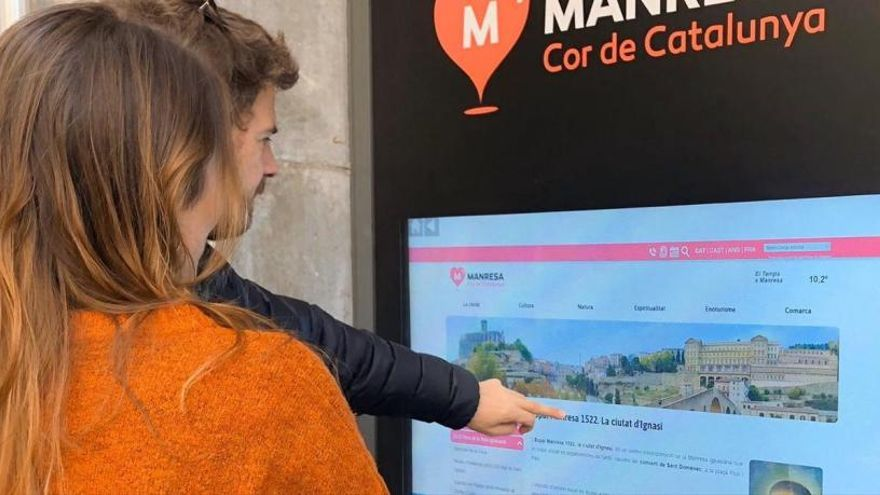 Manresa Turisme estrena un punt d'informació turística virtual les 24 hores