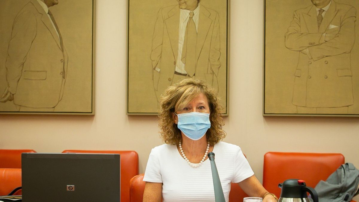 La subgobernadora del Banco de España, Margarita Delgado, comparece ante la Comisión para la Transición Ecológica del Congreso