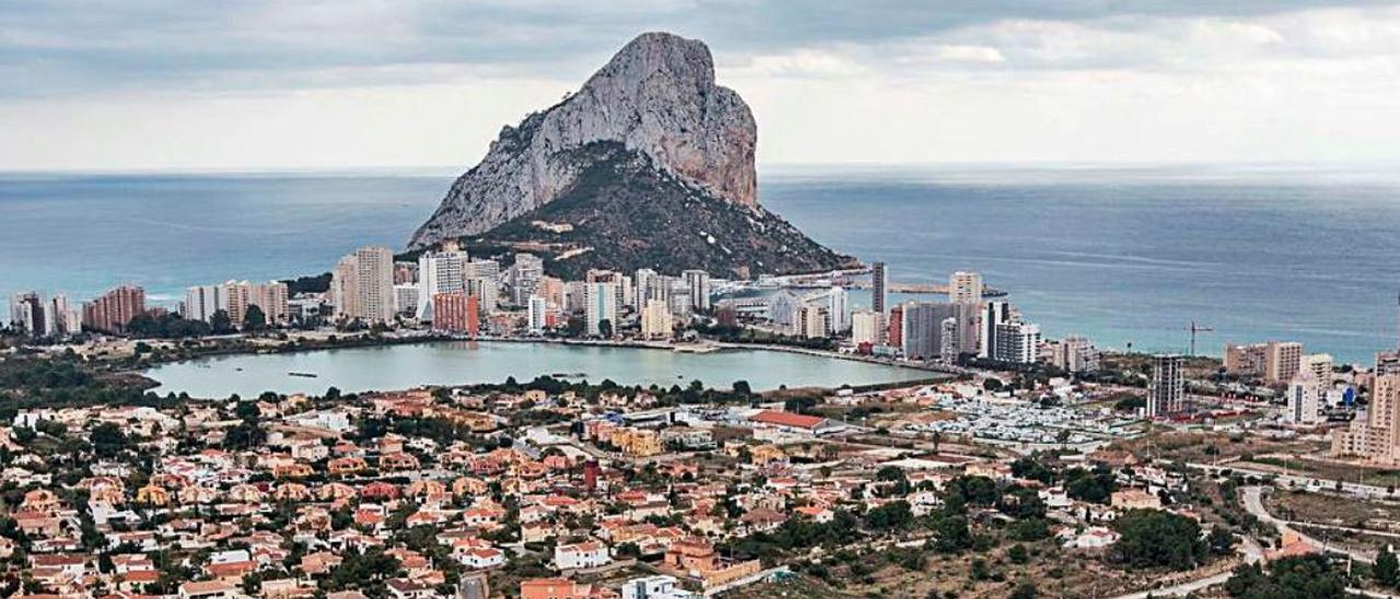 Vista del municipio del Calp.