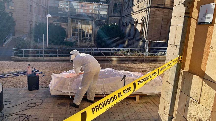 Alcoy retira en un año 1,72 toneladas de amianto de edificios y calles