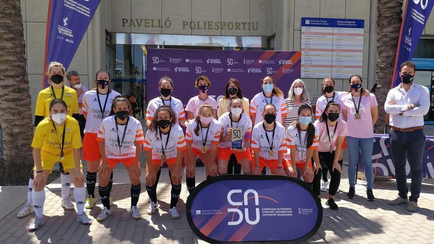 La UA suma 72 medallas en el Campeonato Autonómico de Deporte Universitario de la Comunitat Valenciana