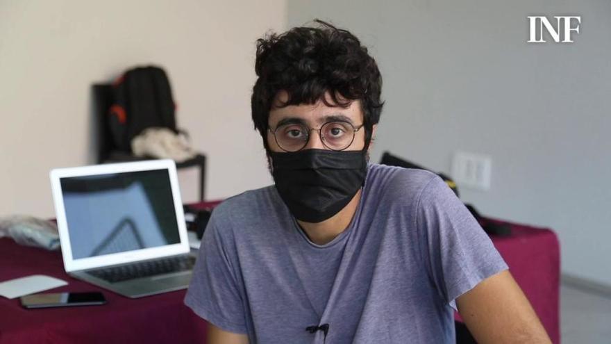 Chema García Ibarra se enfrenta a su primer largo