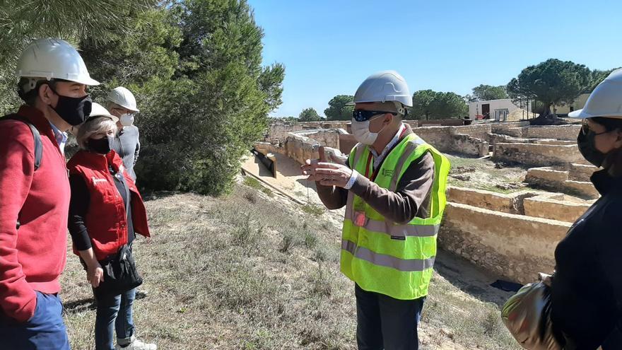 Los yacimientos de La Fonteta, la Rábita Califal, el Montcaio y la fortaleza del Castillo de Guardamar serán visitables desde junio