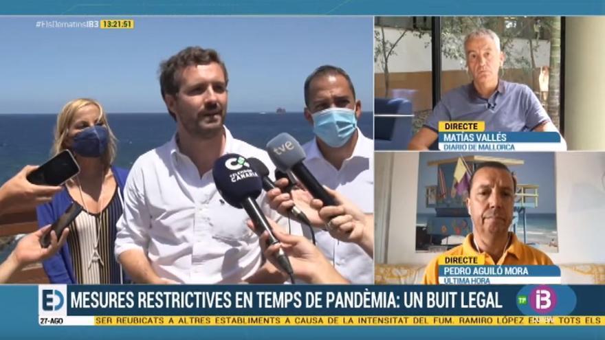 Casado utiliza a Armengol para pedir al Gobierno una ley de pandemias