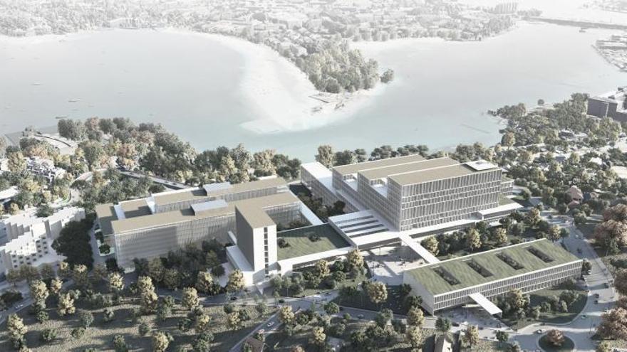 La adjudicación del diseño para la ampliación del hospital, suspendida por un recurso