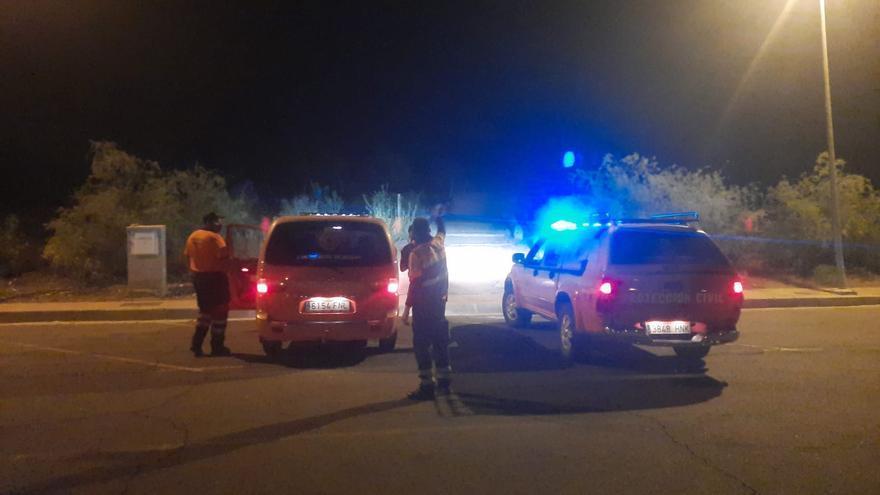 Rescatan a dos senderistas que se perdieron en el municipio de Mogán