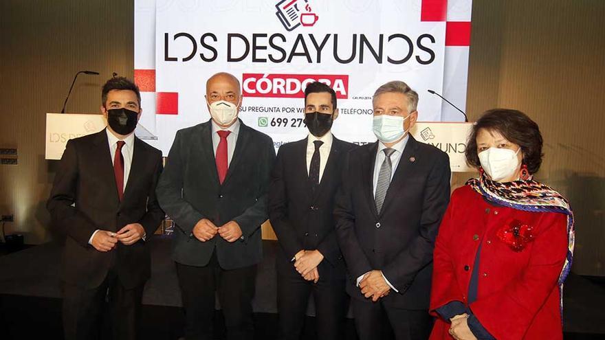 Rafael Romero, Antonio Ruiz, Rafael Pérez, Francisco Sánchez Zamorano y Rafaela Valenzuela.
