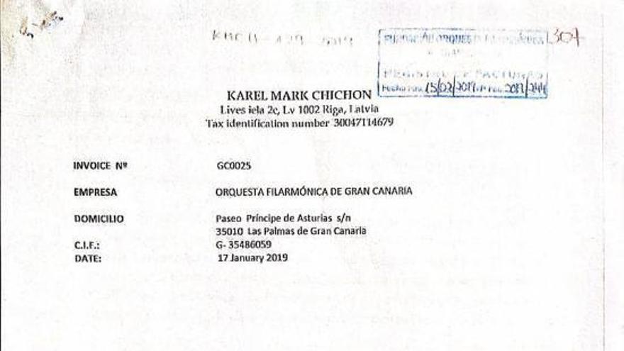 Chichon facturó 24.000 euros a la OFGC por una actividad ajena a su contrato