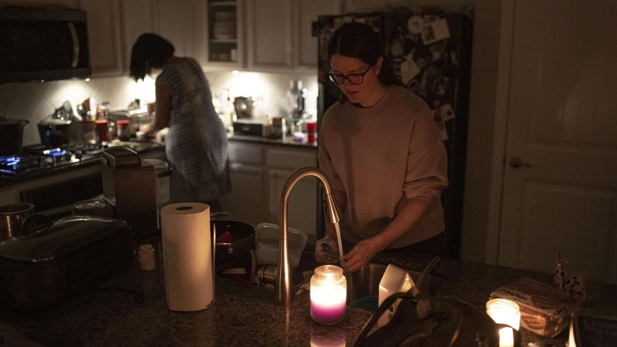Up to 185,000 homes are still without power in the state of Texas.