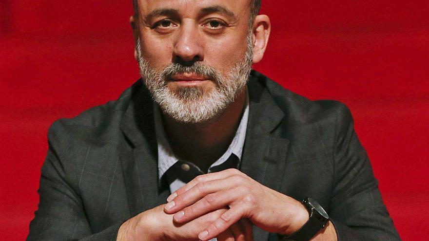 """Javier Gutiérrez, un actor """"educado en el teatro y entrenado en la televisión"""""""