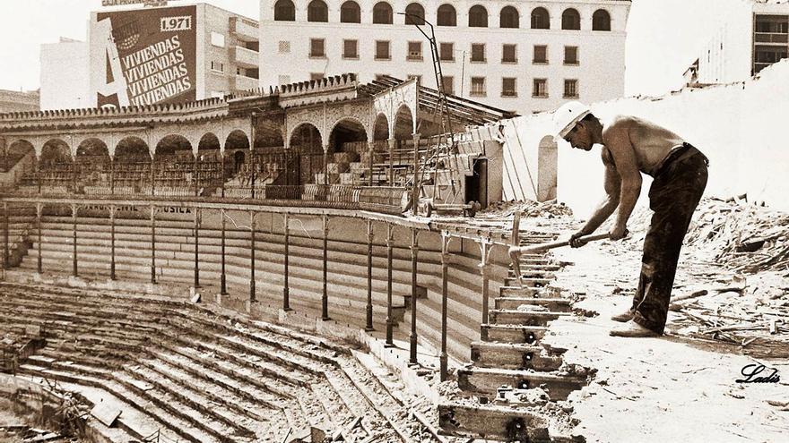 Cincuenta años del derribo de la plaza de toros de Los Tejares