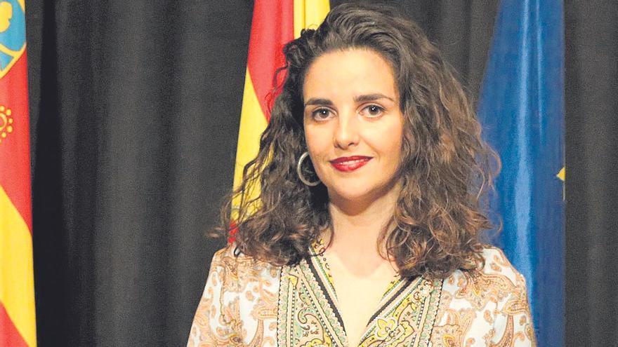 La concejala del área de Igualdad del Ayuntamiento de Torrent, Marina Olivares.