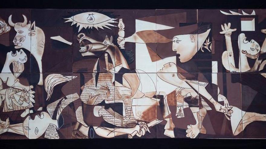 El «Guernica» de Picasso, en xocolata