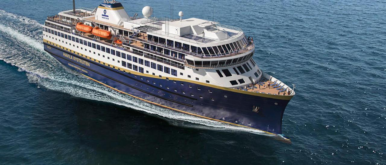 Crucero que Barreras construye para Havila. // Havila
