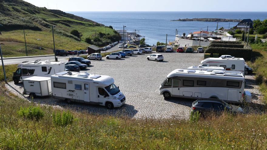 'Mudanza' de autocaravanas en A Coruña