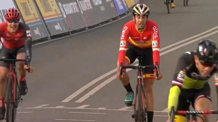 Felipe Orts mira con optimismo el Mundial de Dubendorf
