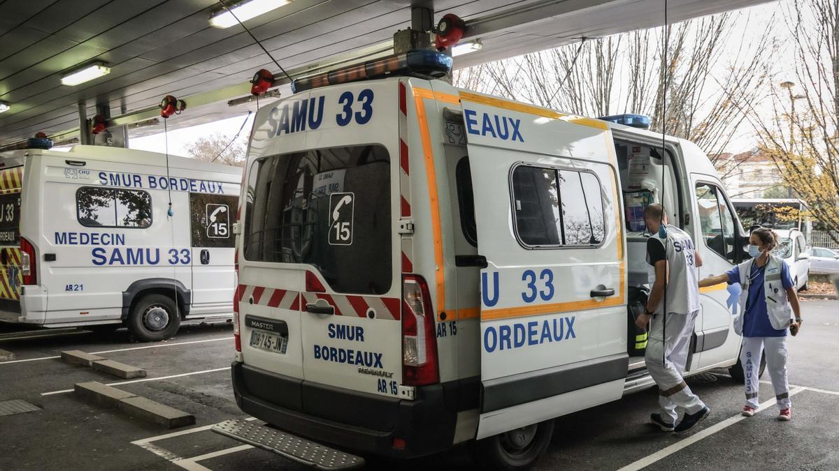 Ambulancia en Francia.