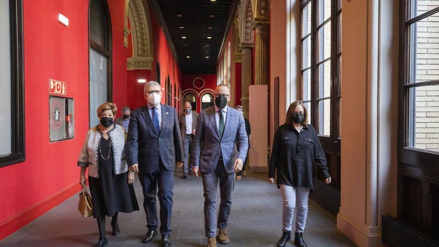 Nace la Cátedra Gonzalo Borrás para la investigación del patrimonio cultural aragonés