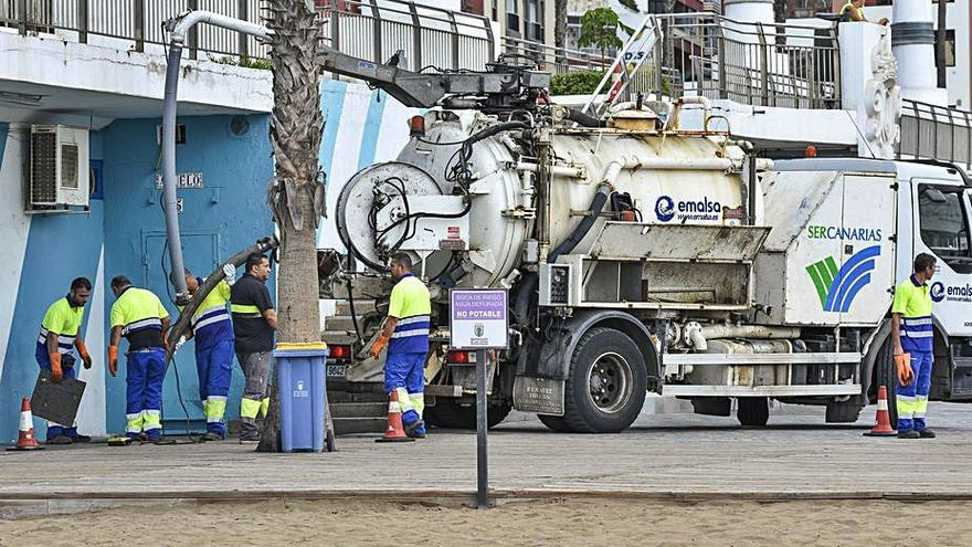 Emalsa asumirá la gestión del saneamiento de la ciudad al hacerse con Sercanarias