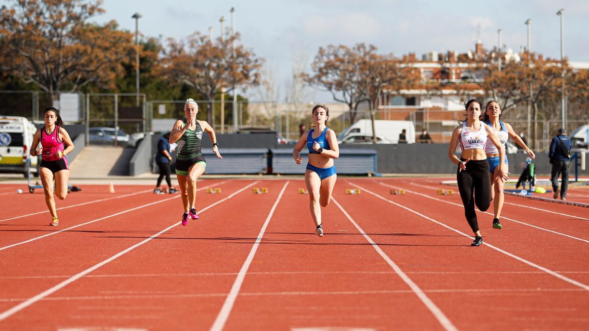 Una competición de atletismo reciente