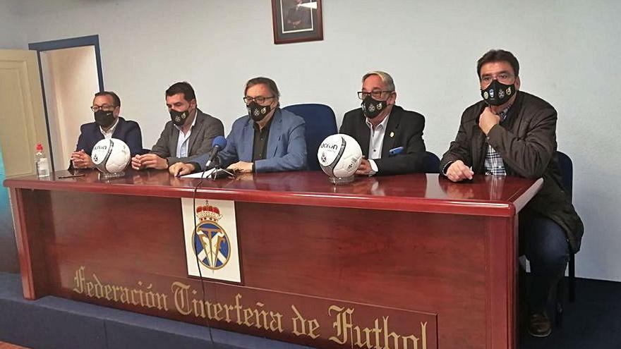 La Tinerfeña recupera                        el fútbol 8 en la segunda quincena de febrero