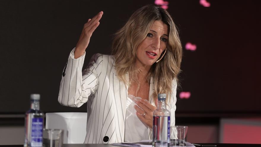 Yolanda Díaz prepara una partida de políticas de recuperación del talento joven